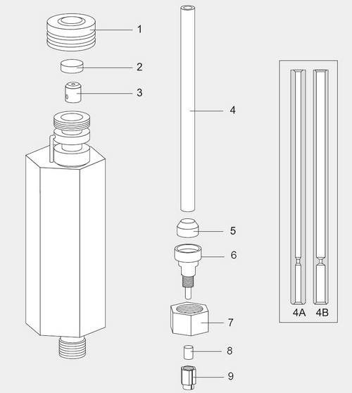Purged Packed Column Injector (PPKD)